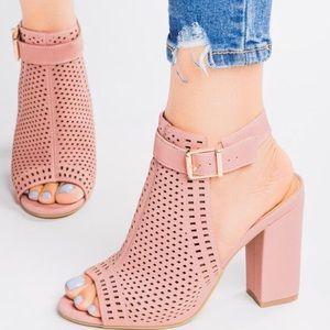Bamboo Influencer Chunk Heel